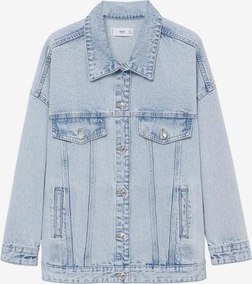 MANGO Overgangsjakke 'Seul' i blå