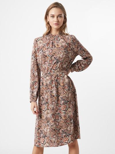 ONLY Kleid 'NOVA' in blau / gelb / dunkelrot / schwarz / offwhite, Modelansicht