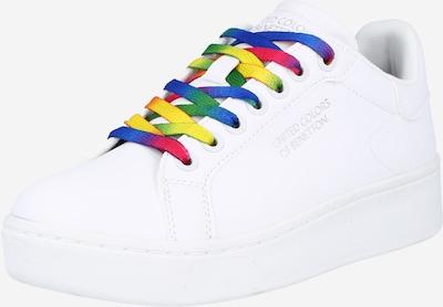 Benetton Footwear Zapatillas deportivas bajas 'TRIPLE L MULTI' en blanco, Vista del producto