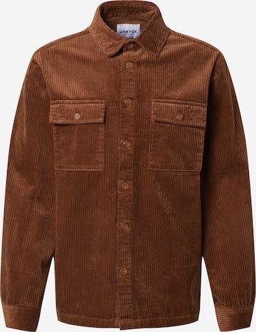 DAN FOX APPAREL Overgangsjakke 'Leif' i brun
