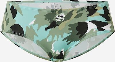 ESPRIT Bikinihose 'Hera' in khaki / mint / pastellgrün / weiß, Produktansicht