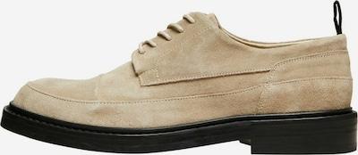 SELECTED HOMME Buty sznurowane w kolorze beżowy / ciemnobrązowym, Podgląd produktu