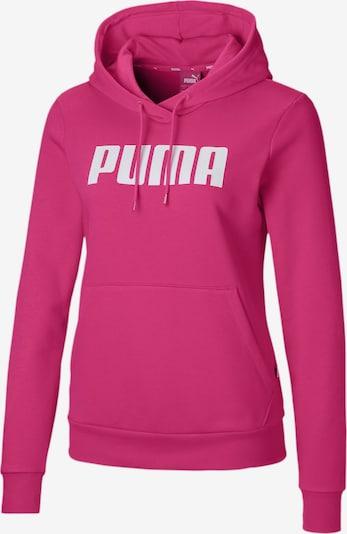 PUMA Hoodie 'Essentials' in pink / weiß, Produktansicht