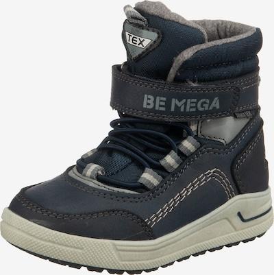 Be Mega Winterstiefel in nachtblau / grau, Produktansicht