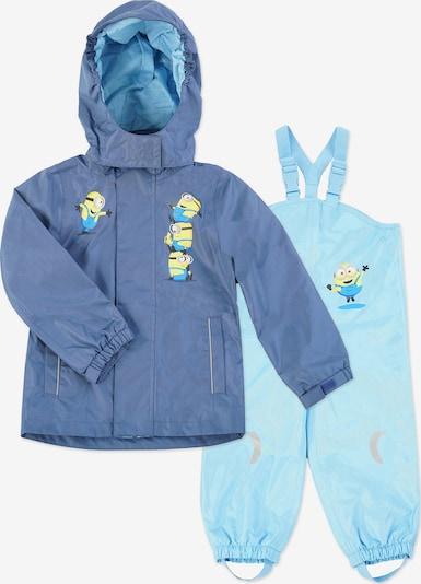 Minions Costume fonctionnel ' Minions ' en bleu / bleu ciel / bleu clair / jaune / noir, Vue avec produit
