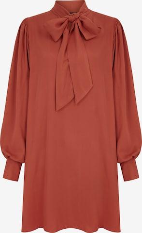 raudona Aligne Palaidinės tipo suknelė 'Edie'