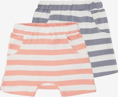 Sense Organics Pantalon 'EMILIO' en gris chiné / corail / blanc, Vue avec produit