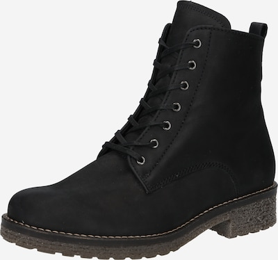 GABOR Lace-Up Ankle Boots in Black, Item view