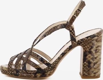 EVITA Damen Sandalette LINDA in Braun