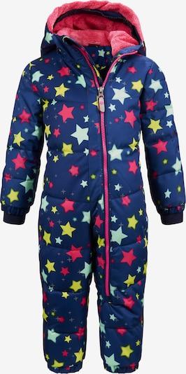 KILLTEC Costume fonctionnel 'Twinkly' en bleu foncé / jaune / menthe / rose, Vue avec produit