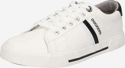Dockers by Gerli Sneaker low i sort / hvid, Produktvisning