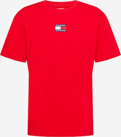 Tommy Jeans T-Shirt in rot, Produktansicht