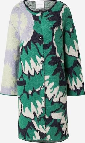 DELICATELOVE Плетено манто 'TINA' в зелено