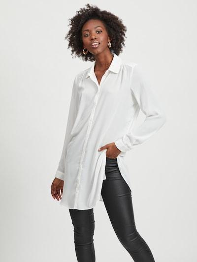 VILA Hemd in weiß, Modelansicht