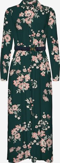VERO MODA Shirt Dress 'Roma' in Dark green / Rose / White, Item view