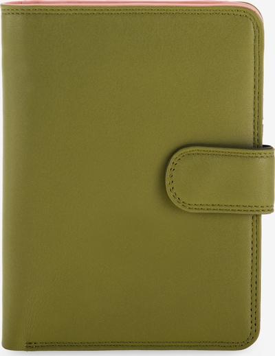 mywalit Large Wallet Geldbörse Leder 14 cm in grün, Produktansicht