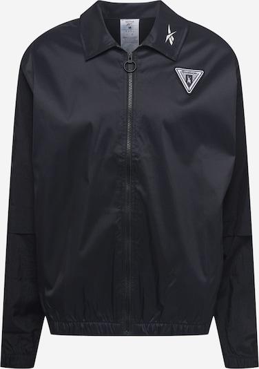 Reebok Sport Vestes d'entraînement en noir, Vue avec produit