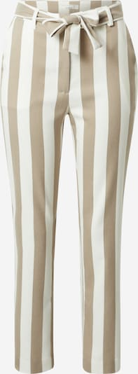 Guido Maria Kretschmer Collection Hose 'Bianca' in beige / weiß, Produktansicht