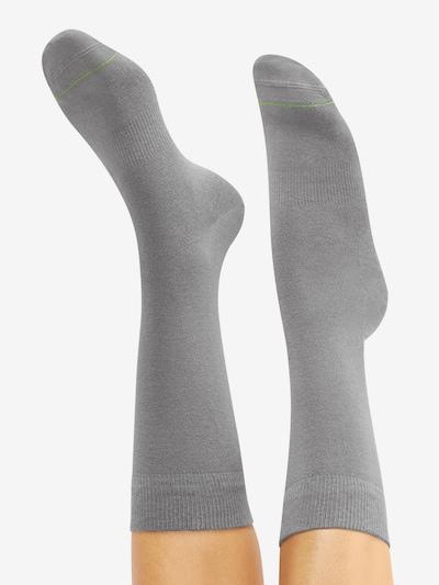 CHEERIO* Socken 'BEST FRIEND' in grau: Rückansicht