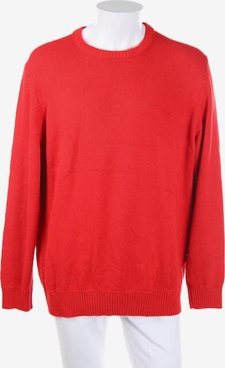 s.Oliver Baumwoll-Pullover in XXL in rot, Produktansicht