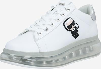 Karl Lagerfeld Nizke superge 'Kapri Kushion' | srebrna / bela barva, Prikaz izdelka
