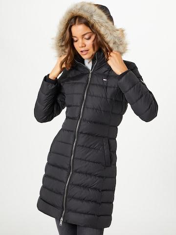 Tommy Jeans Winter Coat in Black