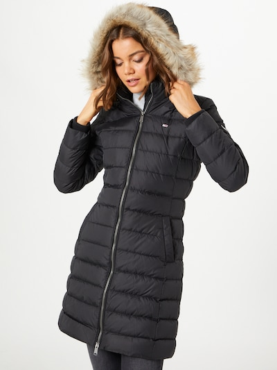 Tommy Jeans Winter coat 'Essential' in black, View model