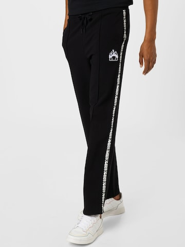 About You x Ellesse Trousers 'Duranta' in Black