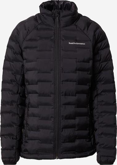 PEAK PERFORMANCE Veste outdoor 'Argon' en noir, Vue avec produit