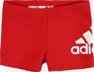 ADIDAS PERFORMANCE Sportieve badmode 'BOS' in de kleur Rood / Wit, Productweergave