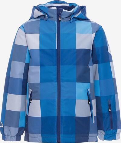 COLOR KIDS Jacke 'Dikson' in blau / nachtblau / himmelblau / weiß, Produktansicht