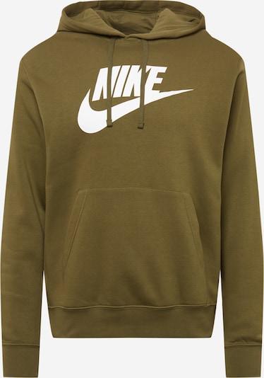 Nike Sportswear Sweatshirt in oliv / weiß, Produktansicht