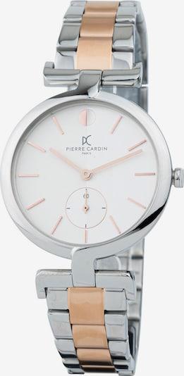 PIERRE CARDIN Uhr in beige / silber, Produktansicht