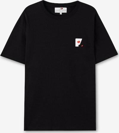Vertere Berlin Shirt in de kleur Rood / Zwart / Wit, Productweergave