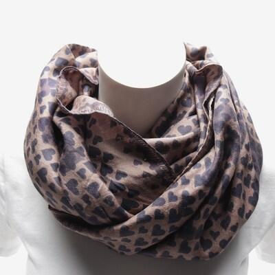 Friendly Hunting Schal in One Size in dunkelbeige / lila, Produktansicht