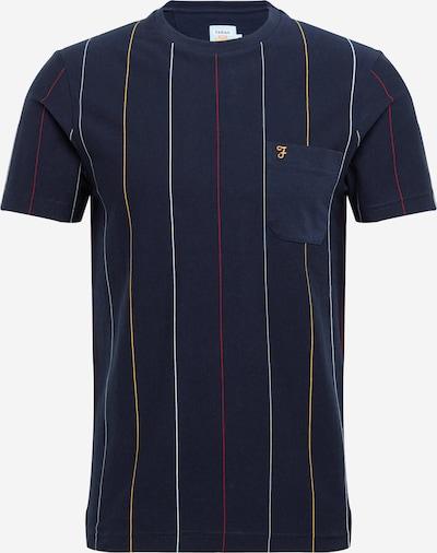 FARAH Majica 'BINLEY' u mornarsko plava / žuta / crvena / bijela, Pregled proizvoda