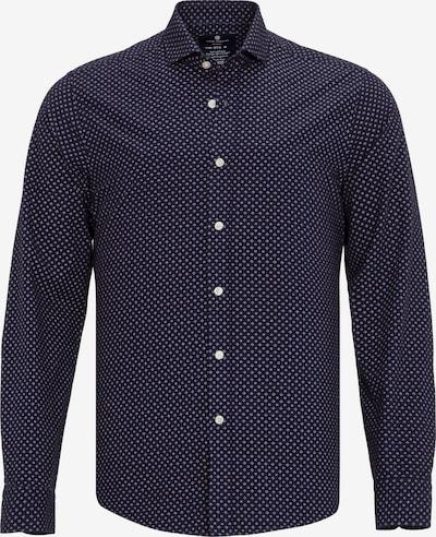Jimmy Sanders Hemd mit Allover-Muster in navy, Produktansicht
