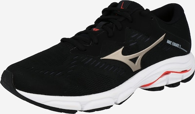MIZUNO Zapatillas de running 'WAVE EQUATE 5' en bronce / rojo / negro, Vista del producto