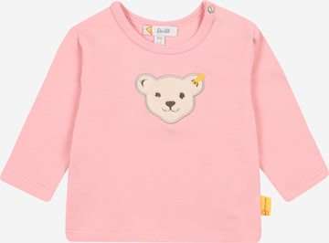 Tricou de la Steiff Collection pe roz