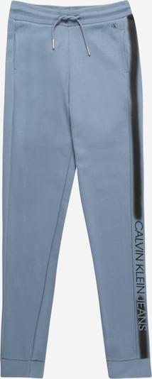 Calvin Klein Jeans Hose in rauchblau / dunkelblau, Produktansicht