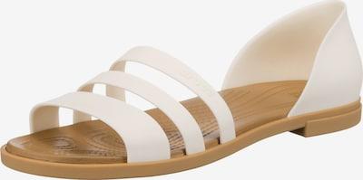 Crocs Sandale in weiß, Produktansicht