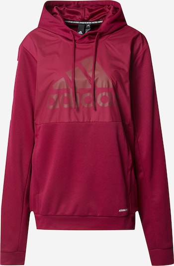ADIDAS PERFORMANCE Sports sweatshirt in berry / white, Item view