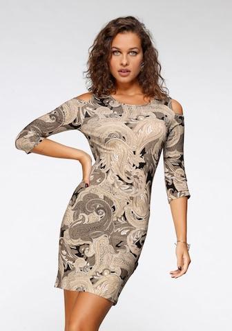 MELROSE Dress in Beige