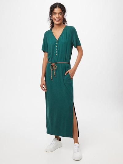 Ragwear Vestido en verde oscuro, Vista del modelo