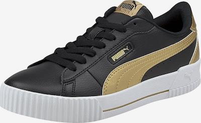 PUMA Sneaker 'Carina' in gold / schwarz, Produktansicht
