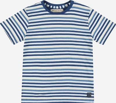 BASEFIELD Majica u plava / sivkasto plava / žuta / bijela, Pregled proizvoda