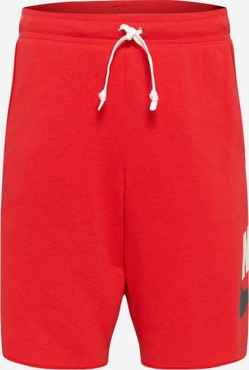Nike Sportswear Kalhoty - marine modrá / červená / bílá, Produkt