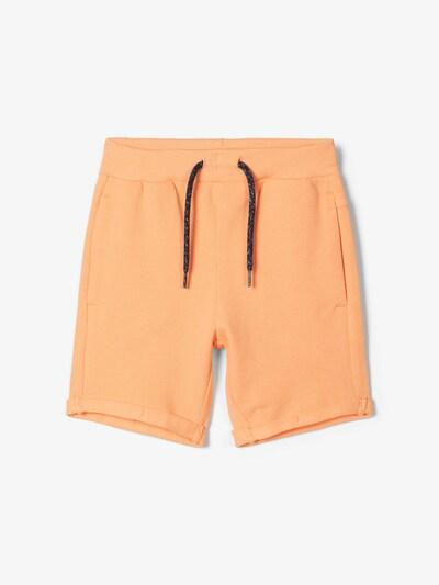 NAME IT Sweatshorts in orange, Produktansicht