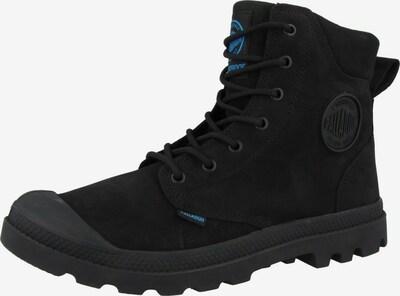 Palladium Boots 'Pampa' in cyanblau / schwarz, Produktansicht