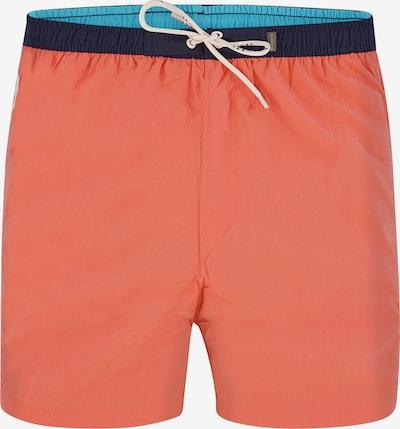 bugatti Shorts de bain 'PIERRE' en corail, Vue avec produit